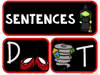 Letters, Words, and Sentences, OH MY!