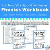 Letters, Words, and Sentences Workbook - Orton-Gilligham Phonics