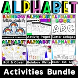 Alphabet and Letter Activity Bundle