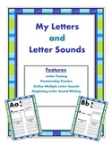 Letters and Letter Sounds, My Letters and Letters Sounds Book