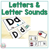 Letters and Letter Sounds Unit {Special education & Autism Resource}
