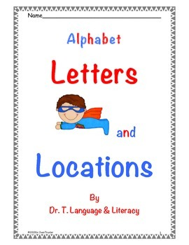 Letters and Locations