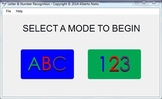 Letters and Number Recognition Software