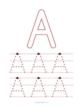 Letters and Numbers Workbook / Worksheet Printables