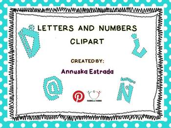 FREE Letters and Numbers Clipart >Alphabet Clipart