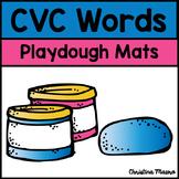 Playdough Mats - CVC Words