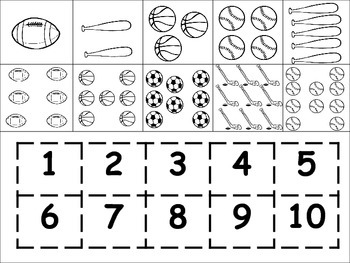 Letters and Numbers Practice