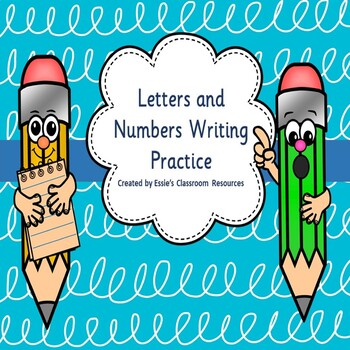 Letters and Numbers Writing Practice