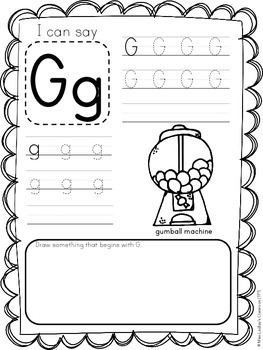 Letters and Phonics Activities