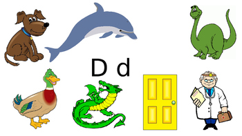 Letters and Pictures Powerpoint - Nursery