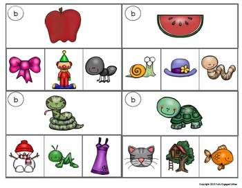 Letters and Segmenting Clip Cards
