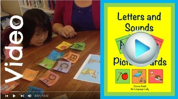 Letters and Sounds ABC Cards Demo Video