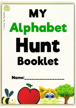 Letters and Sounds: Alphabet Hunt