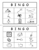 Letters and Sounds Bingo Game