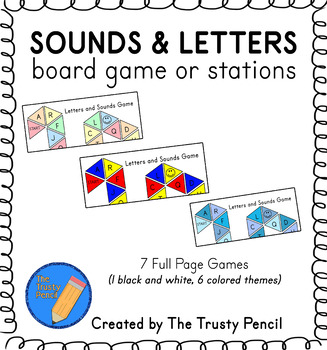 Letters and Sounds Board Game, Station
