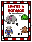 Letters and Sounds Chart Spanish Letras y Sonidos