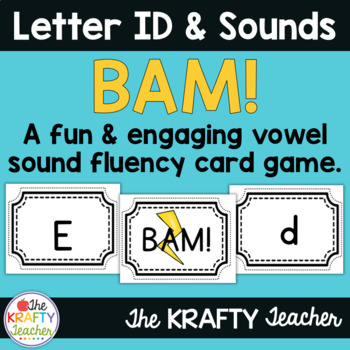Letter Sounds Activity - BAM Game