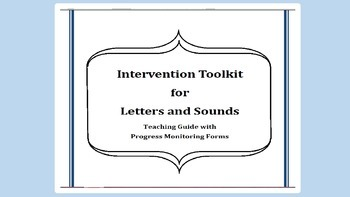 Letters and Sounds Intervention Toolkit