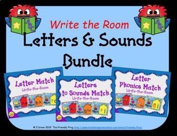 Letters and Sounds Match Bundle