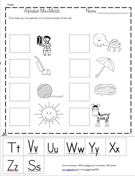 Letters and Sounds Mix-Match Teach, Assess and Record Pack