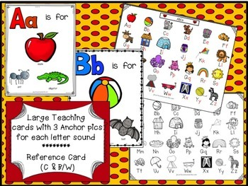 Letters and Sounds Packet for Letter Recognition