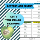Letters and Sounds Phase 2-4 Term Spelling Programme
