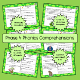 Letters and Sounds Phase 4 Phonics Comprehension - 12 texts