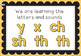 Letters and Sounds Phonics Bump it Up Wall Editable