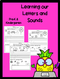 Letters and Sounds- Pre-K and Kinder Activities