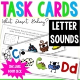 Letters and Sounds - What Doesn't Belong? - Boom Cards