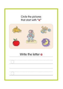 Letters and Sounds Workbook