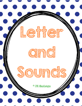 Letters and Sounds for Little Ones