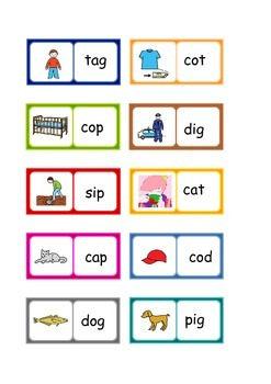 letters and sounds phonics phase 2 words dominoes 3 sets