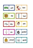 Letters and Sounds phonics: Phase 3 words dominoes. 6 SETS.