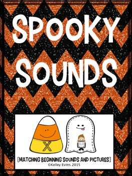 Letters and sounds- Halloween matching!
