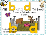 Letters b and d Activity