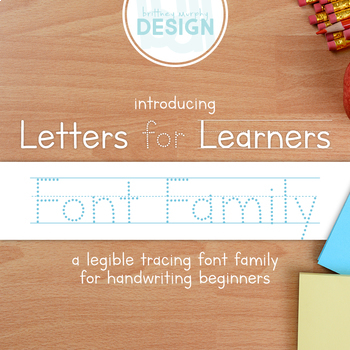 Letters for Learners Font Family for Commercial Use