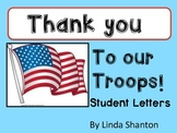Letters for Our Troops - Thank You