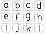 Letters for the classroom