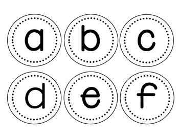 Letters for word wall/levelled books