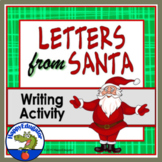 Christmas Activity - Writing Letters FROM Santa