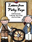 Letters from Valley Forge: Historical Letter Writing Activities
