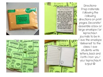 Letters from a Leprechaun (Pen pal Writing Activity)
