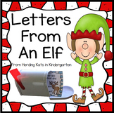 Elf On The Classroom Shelf Letters