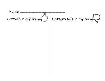 Letters in Name Sort