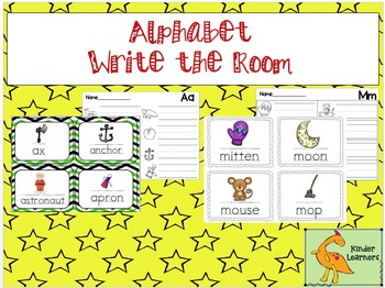 Write the Room Letters in the Alphabet bundle