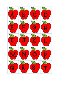 Letters in the Apple Tree