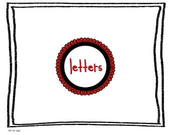 Letters make Words make Sentences make Stories make Books
