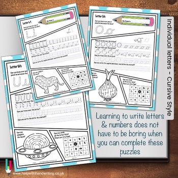 Letters, numbers and fun puzzles