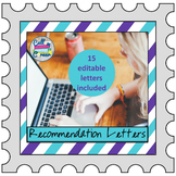 Recommendation Letters for Students, Student Teachers, & C